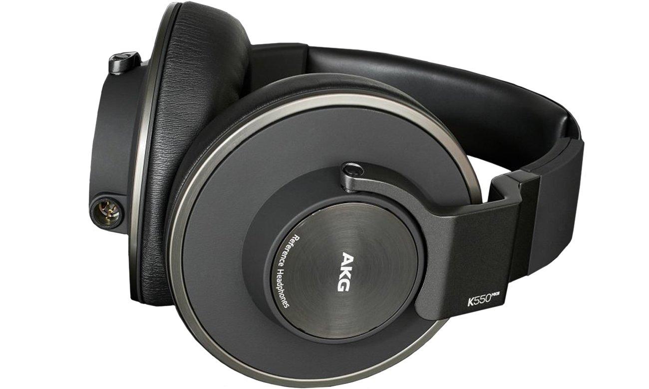 Słuchawki wokółuszne AKG K550 MK III Czarne