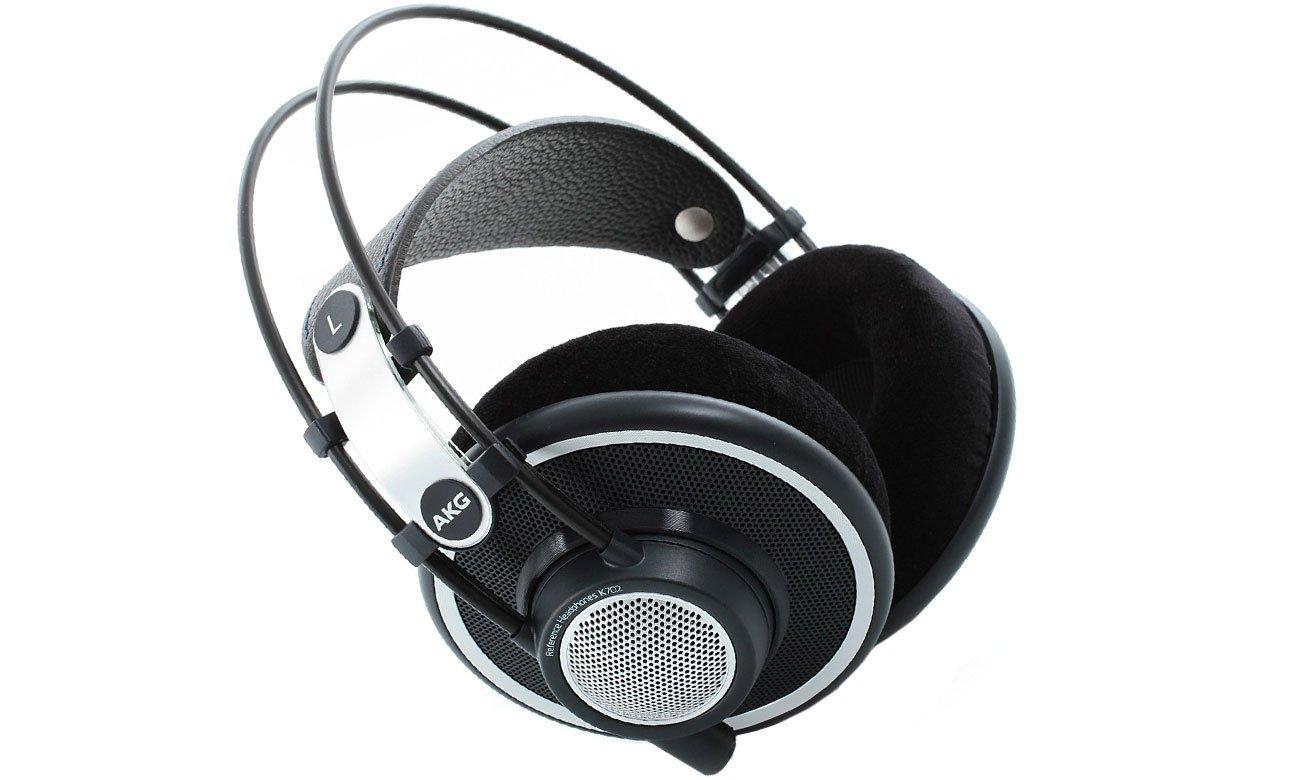 Słuchawki wokółuszne AKG K702 srebrno-czarne