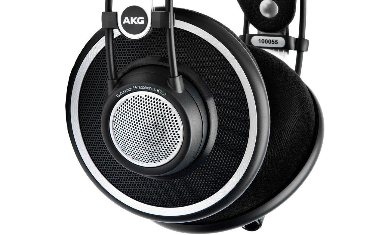 Nauszne słuchawki przewodowe AKG K702