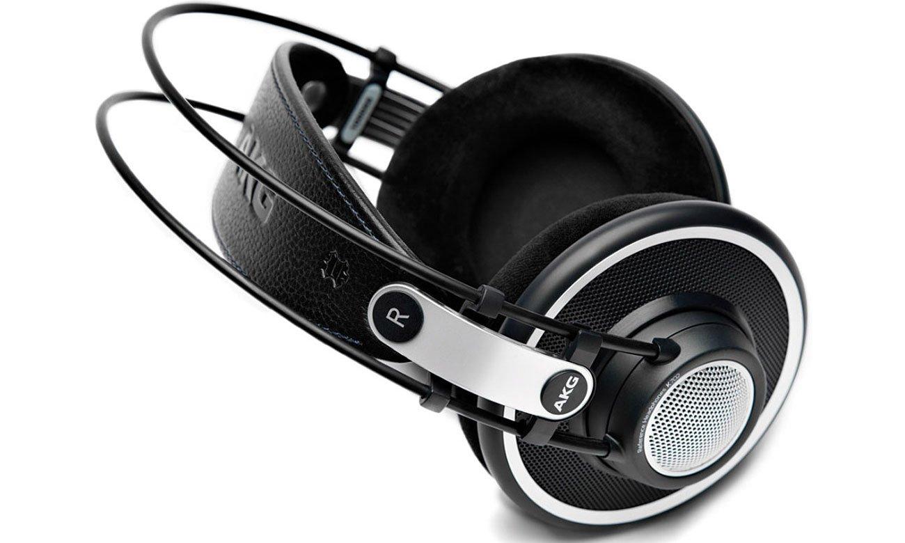 Elegancki wygląd słuchawek AKG K702