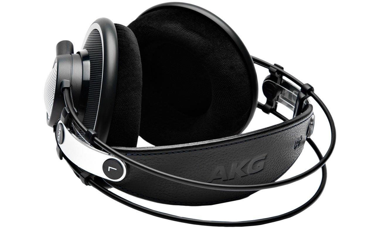Odpinany kabel w słuchawkach AKG K702
