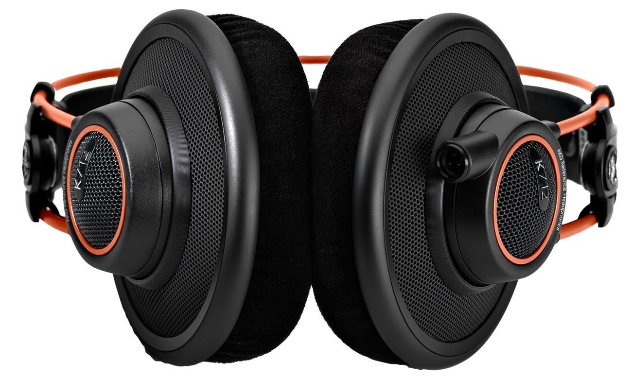 Nowoczesny design słuchawek AKG K712PRO