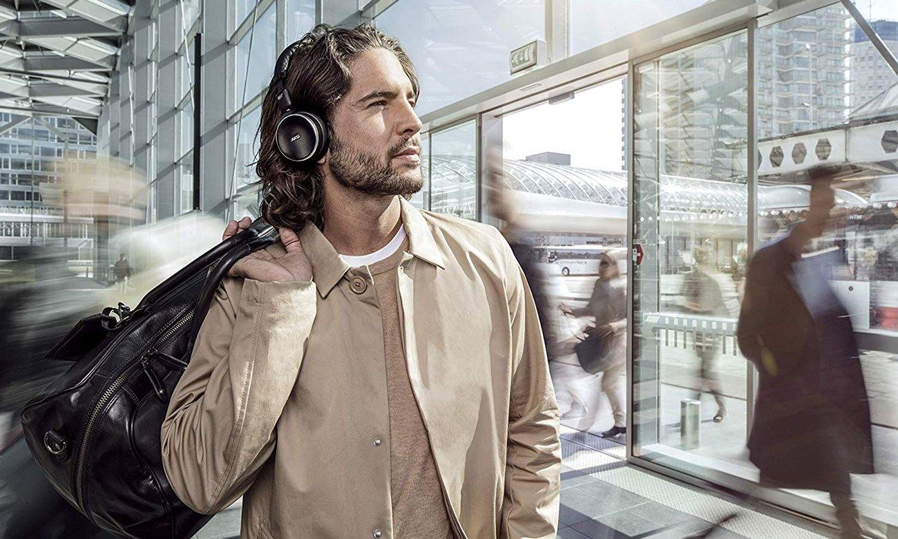 Aktywna Redukcja Szumów (ANC) w słuchawkach AKG N60NC BT