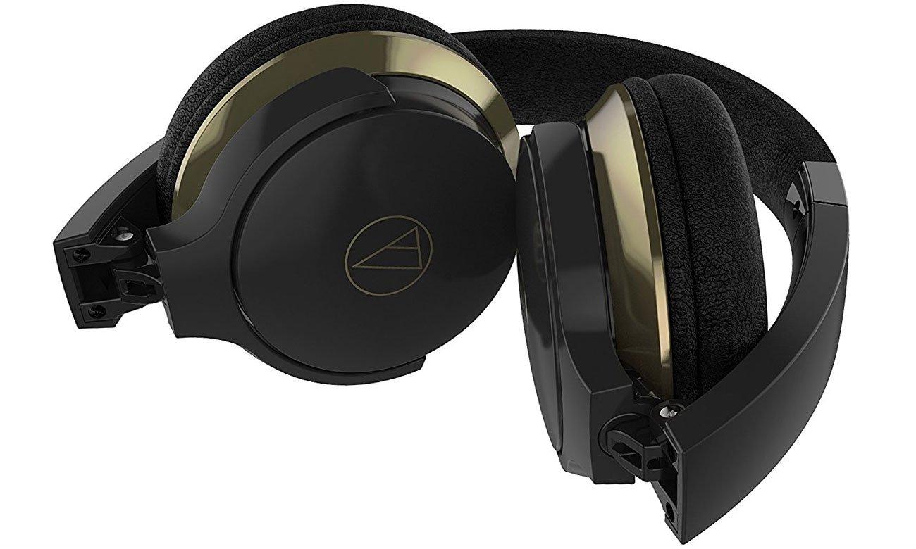 Wygodne słuchawki nauszne ATH-AR3BT Audio-Technica czarne