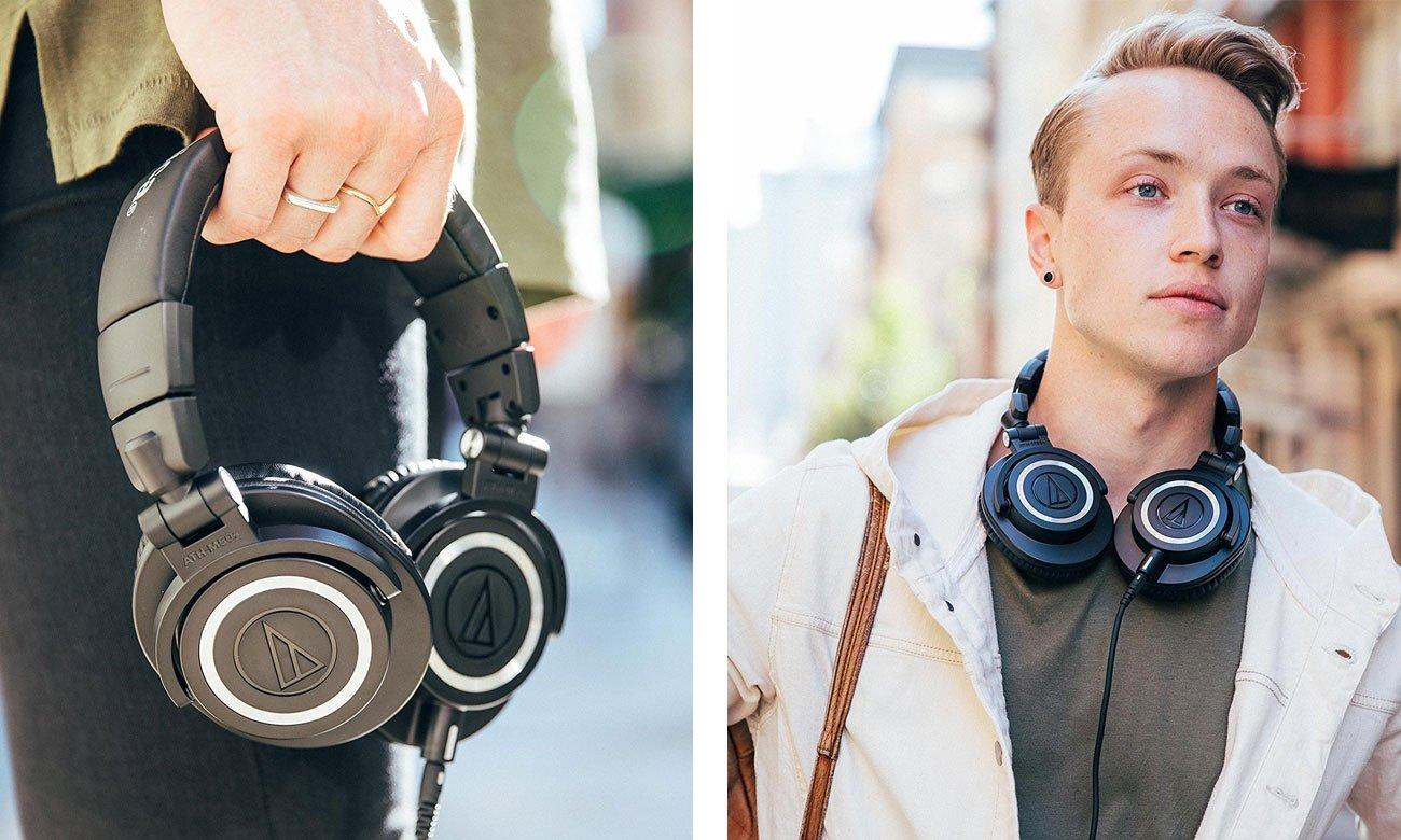 Wokółuszne słuchawki Bluetooth Audio-Technica ATH-M50X