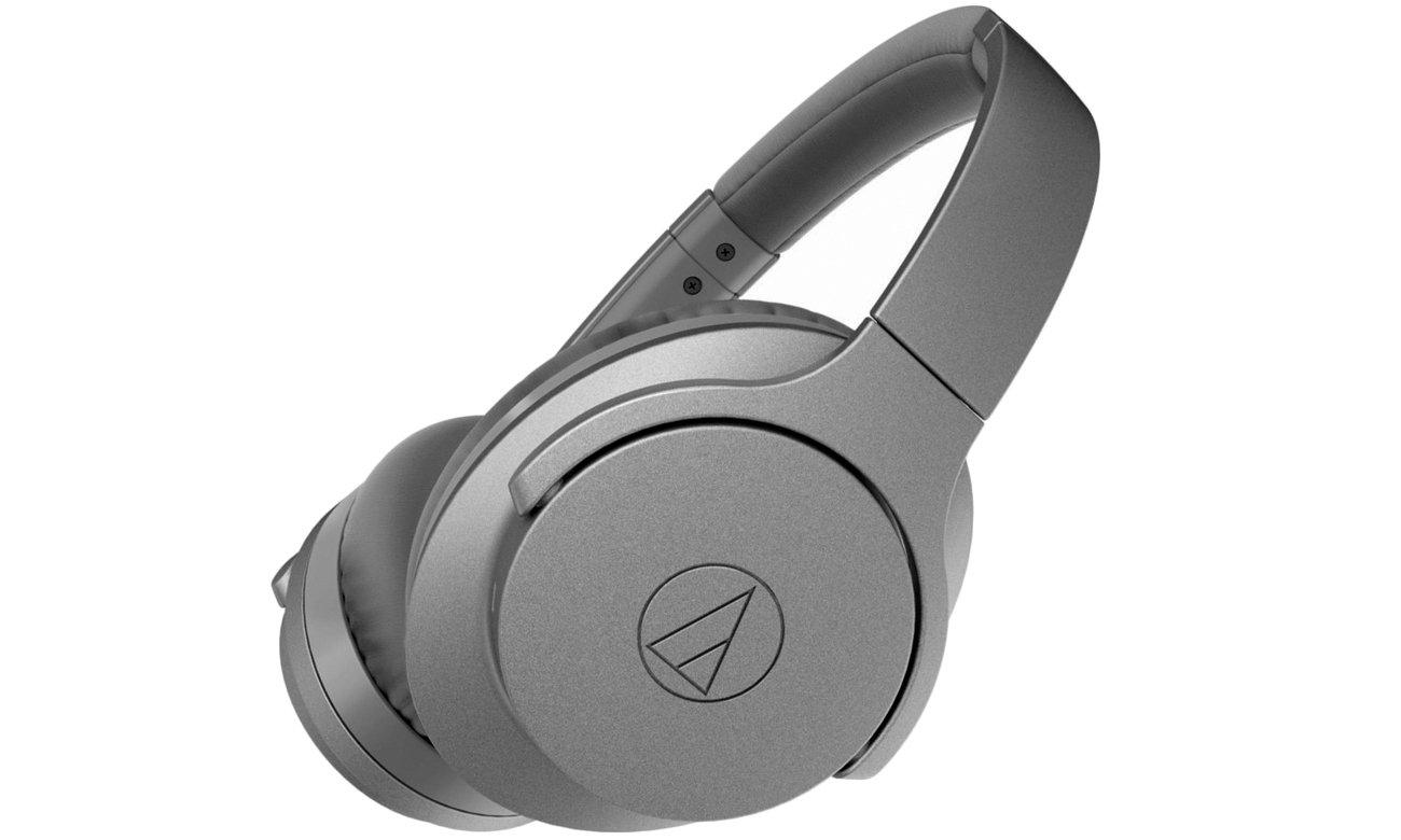 Słuchawki bezprzewodowe z ANC Audio-Technica ATH-ANC700BT szare