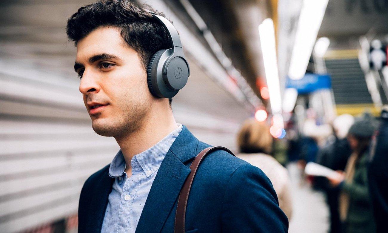 MBrzmienie słuchawek bezprzewodowych ATH-ANC700BT Audio-Technica