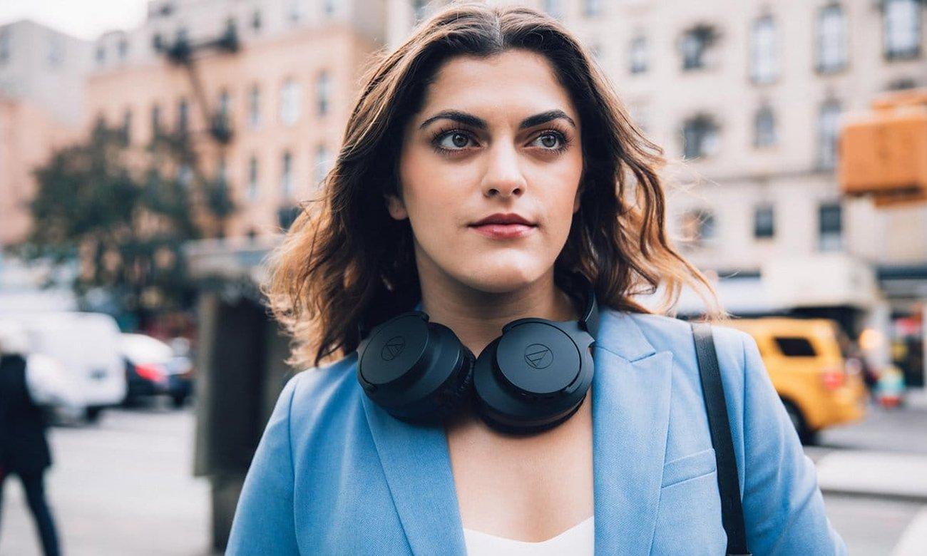 Wygodne słuchawki nauszne ATH-ANC700BT Audio-Technica