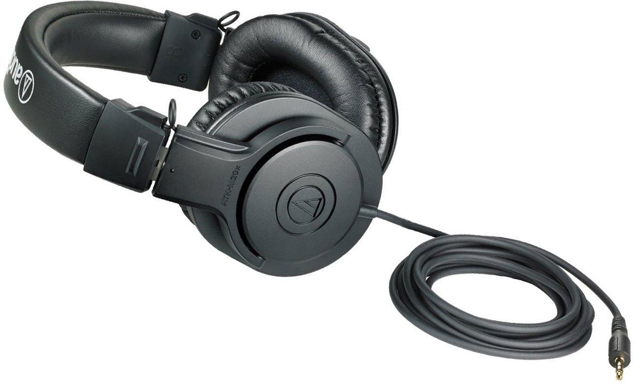 Wytrzymałe słuchawki Audio-Technica ATH-M20X