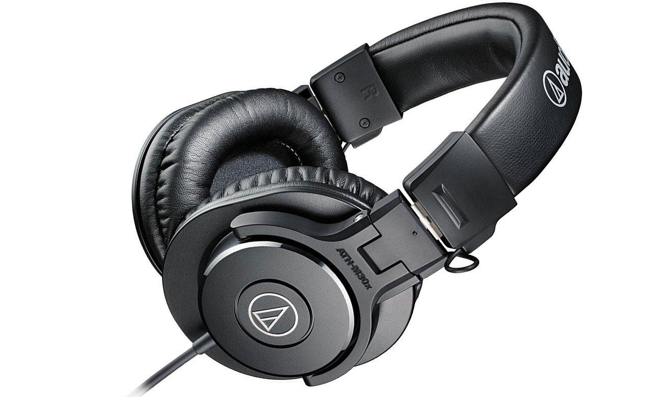 Słuchawki zamknięte Audio-Technica ATH-M30X czarne