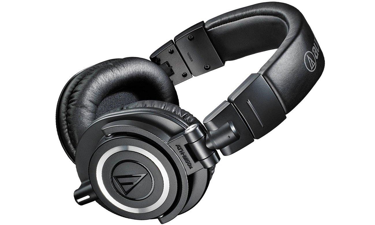 Słuchawki monitorowe Audio-Technica ATH-M50X czarne