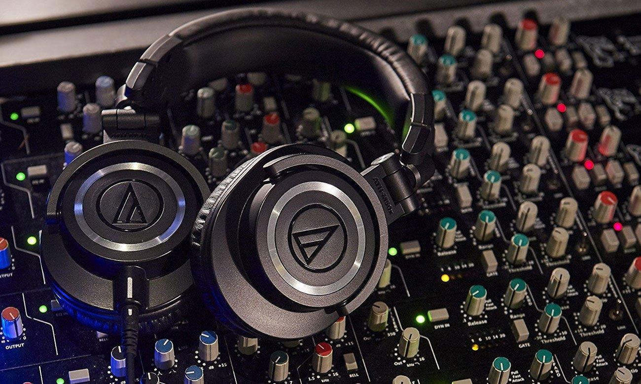 Wydajna przetworniki w słuchawkach Audio-Technica ATH-M50X