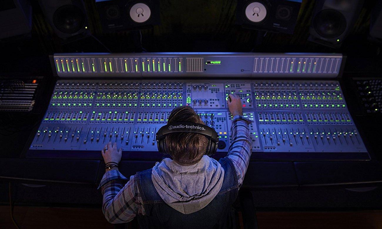 Wygodne słuchaweki studyjne ATH-M50X Audio-Technica