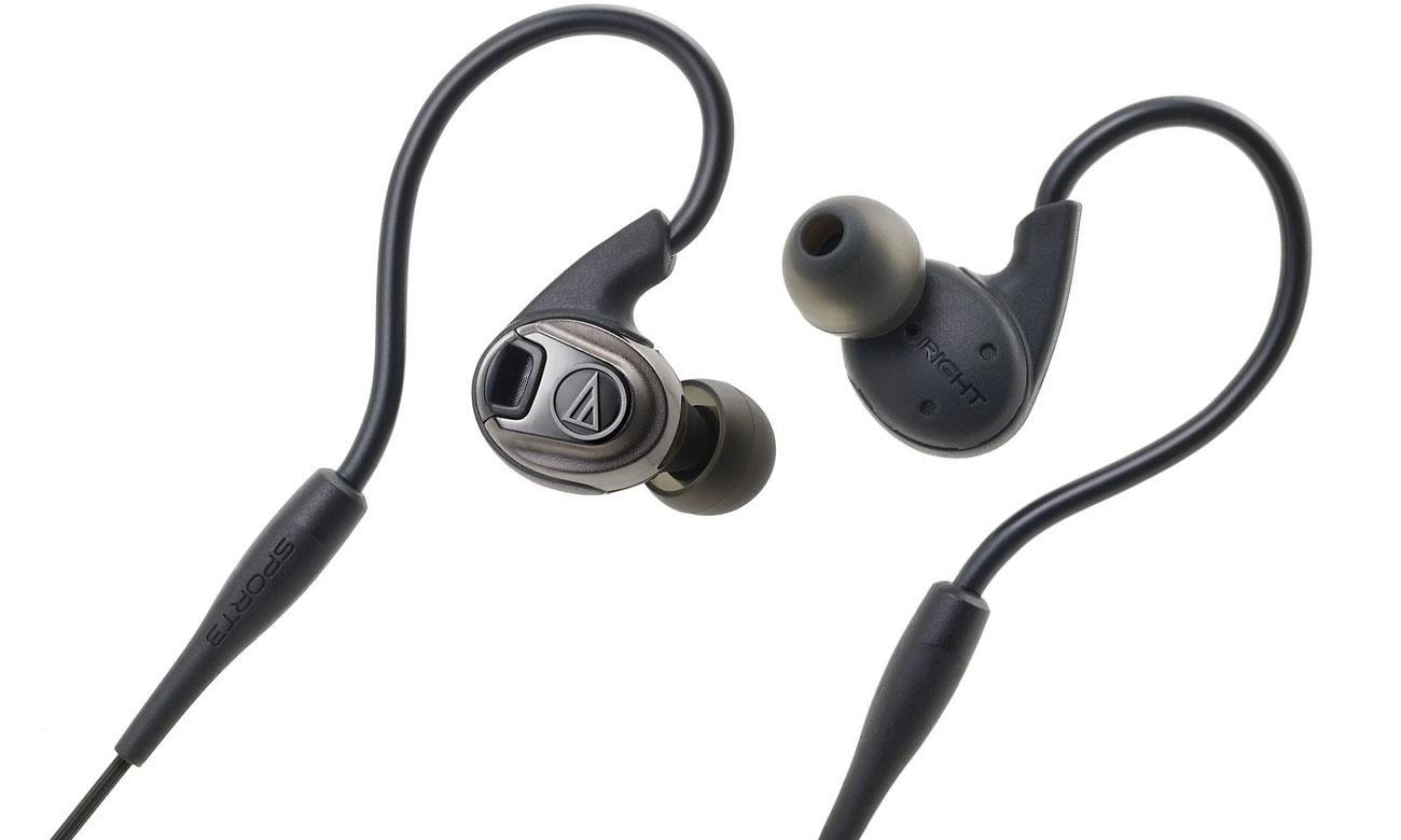 Słuchawki dokanałowe Audio-Technica ATH-SPORT3 czarne