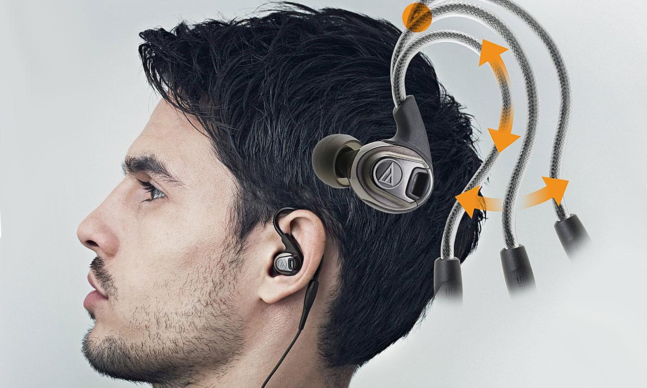 Słuchawki dla biegaczy Audio-Technica ATH-SPORT3