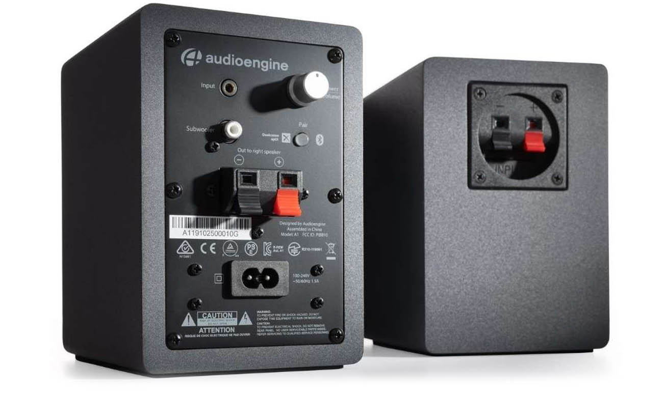 Bluetooth 5.0 w kolumnach Audioengine A1