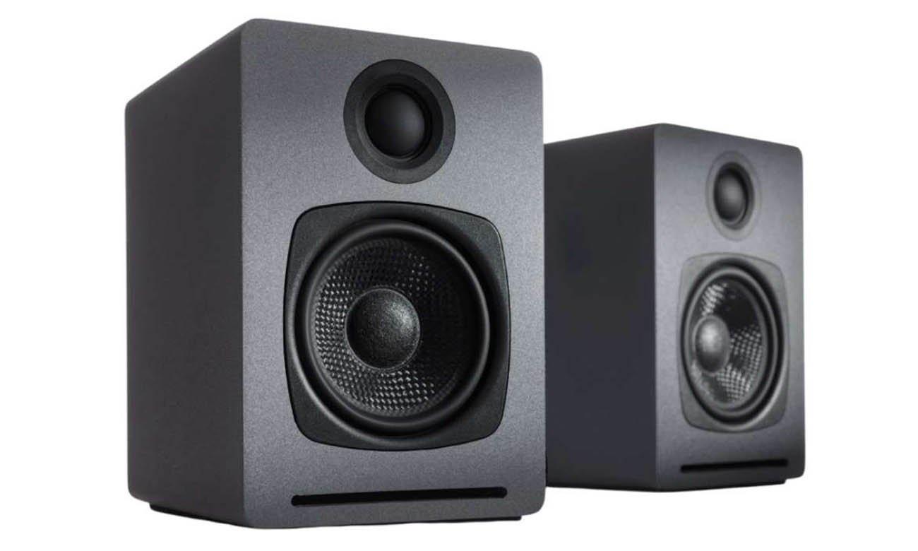 Bezprzewodowe głośniki podstawkowe Audioengine A1 Czarne