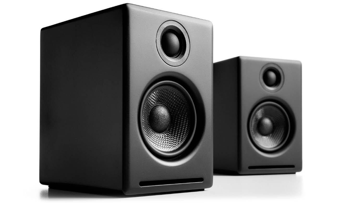 Bezprzewodowe głośniki podstawkowe Audioengine A2+ BT Czarne