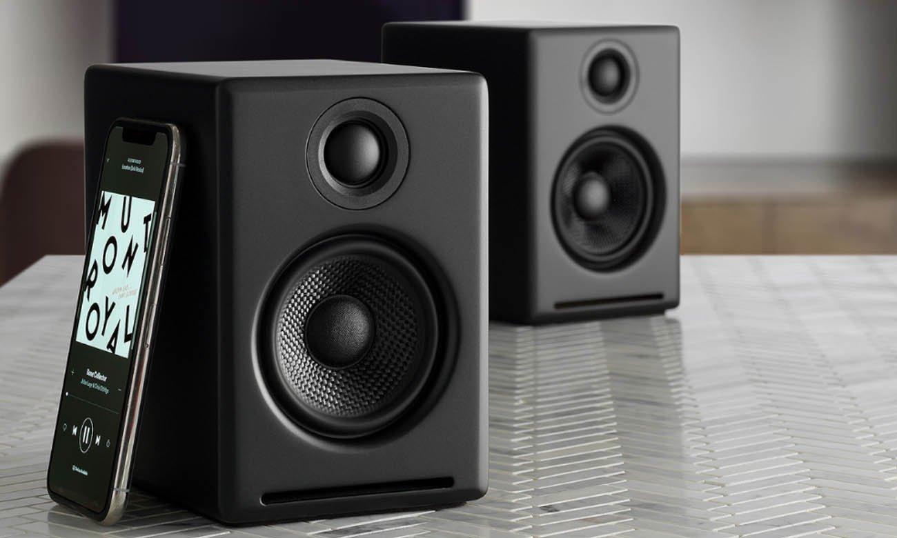 Wysokiej jakości kolumny głośnikowe Audioengine A2+ BT