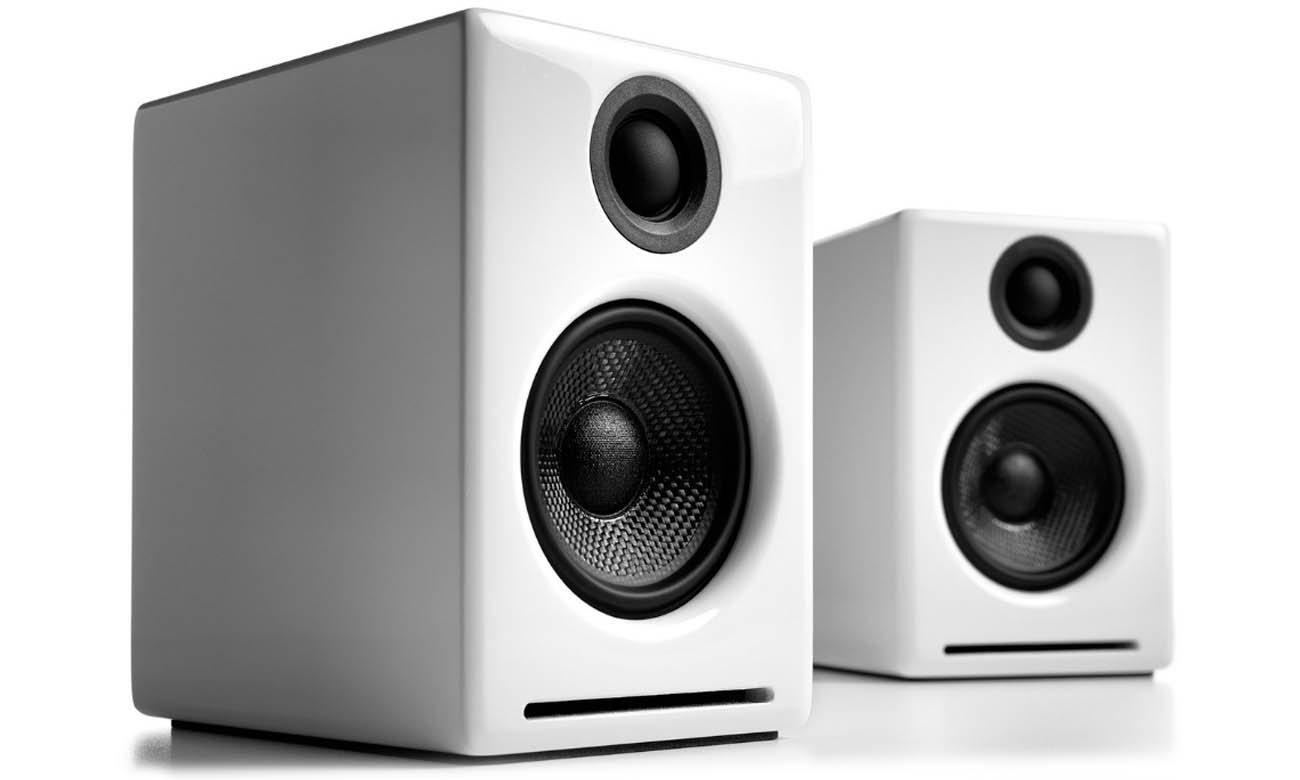 Bezprzewodowe głośniki podstawkowe Audioengine A2+ BT Białe