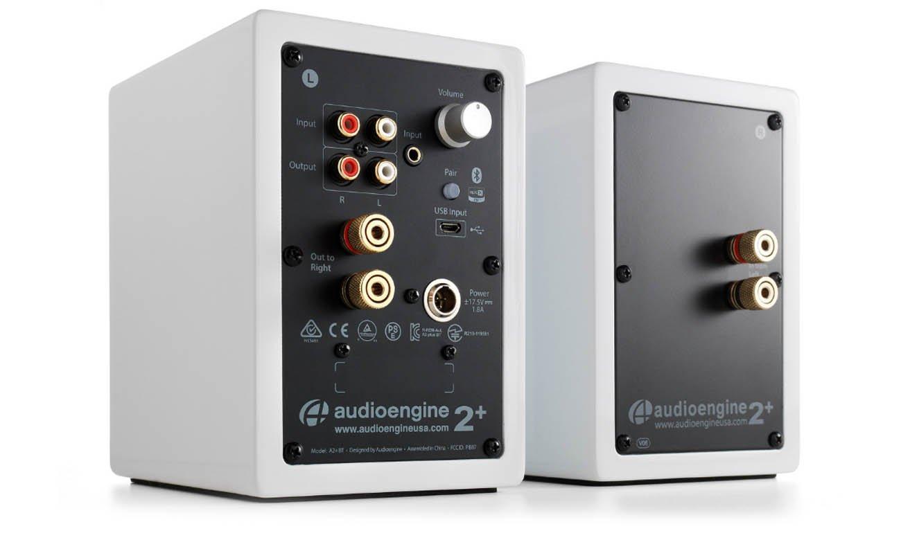 Bluetooth 5.0 w kolumnach Audioengine A2+ BT