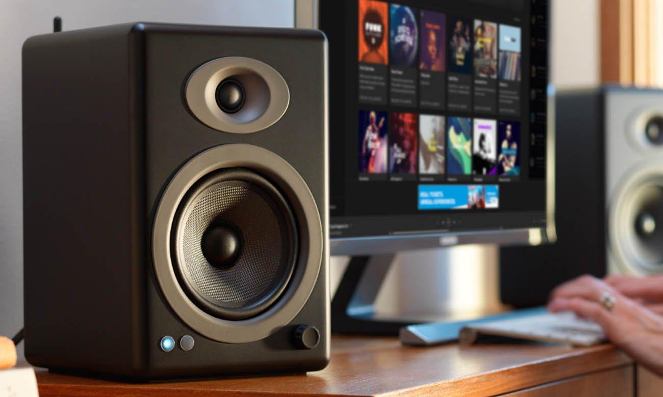Wysokiej jakości kolumny głośnikowe Audioengine A5+ BT