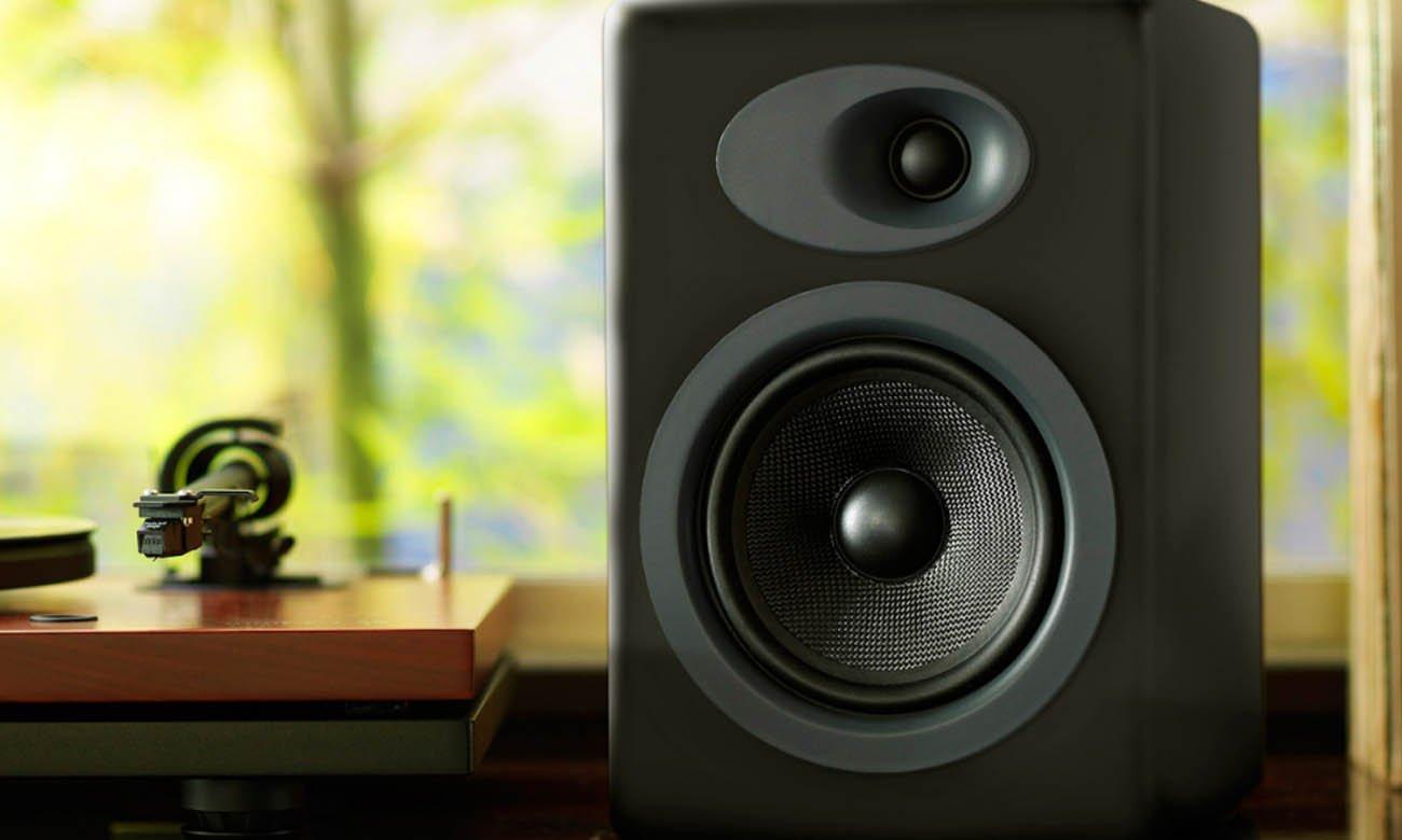 Wysokiej jakości kolumny głośnikowe Audioengine A5+