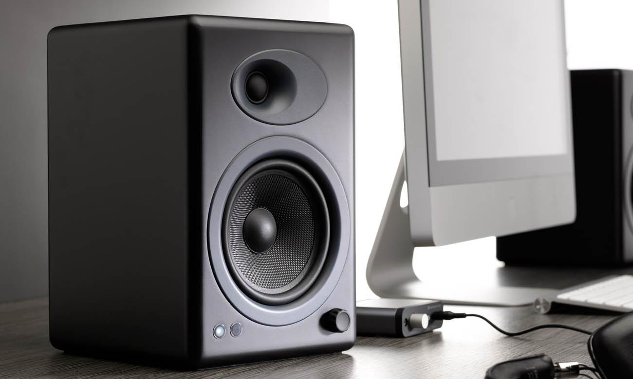 Komponenty najwyższej jakości w kolumnach Audioengine A5+