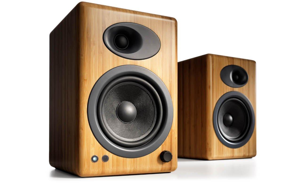 Głośniki podstawkowe Audioengine A5+ Bambusowe