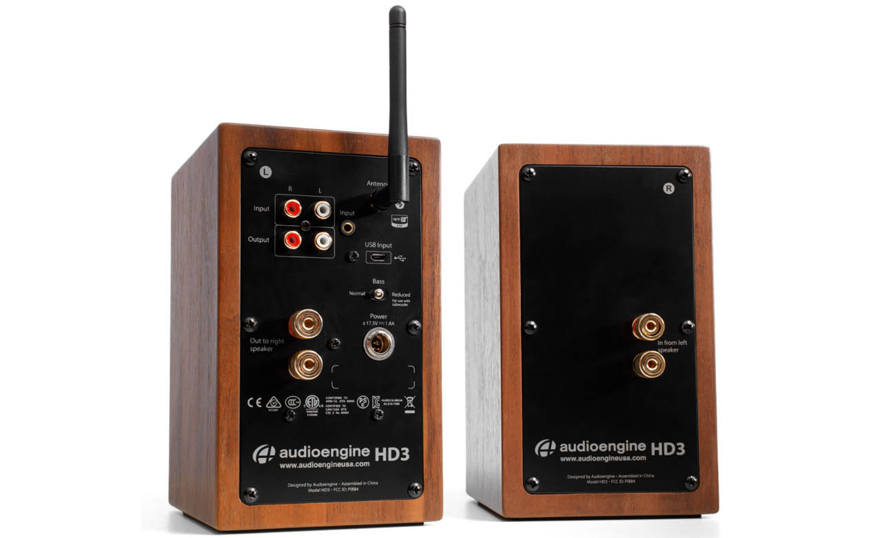 Bluetooth 5.0 w kolumnach Audioengine HD3 BT