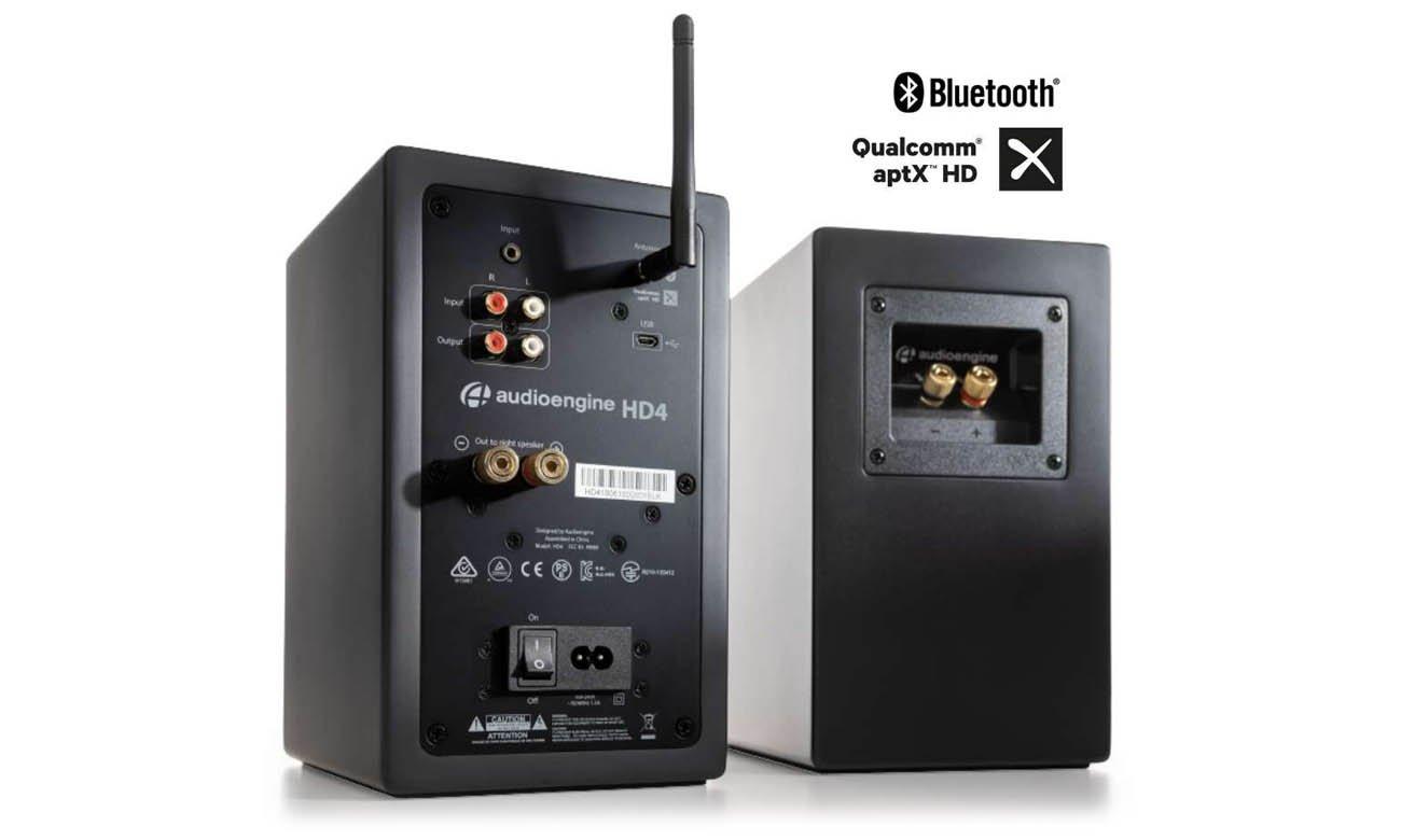 Bluetooth 5.0 w kolumnach Audioengine HD4 BT