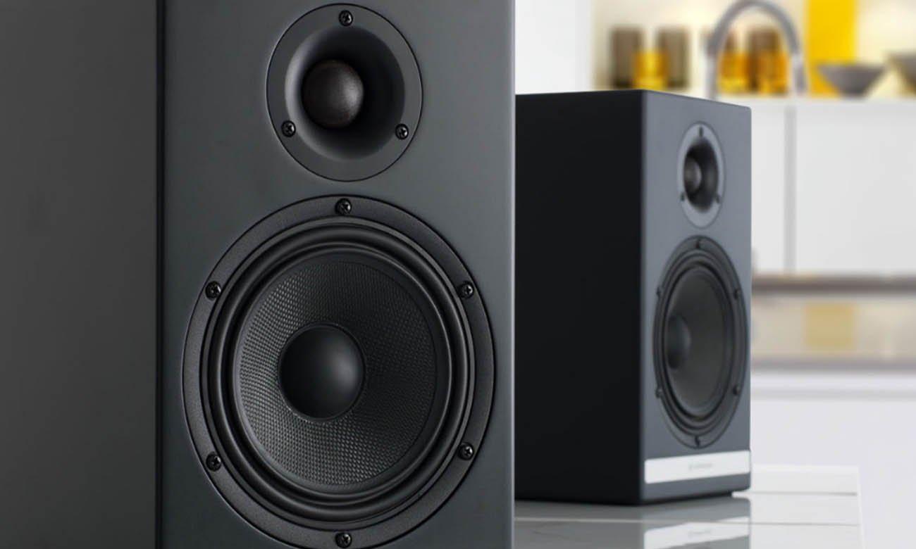 Komponenty najwyższej jakości w kolumnach Audioengine HD6