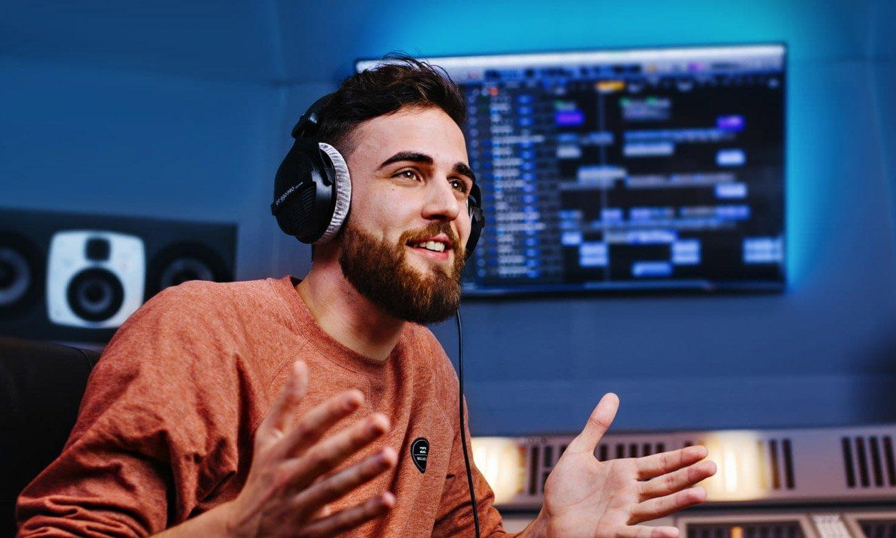 Wysokiej jakości słuchawki profesjonalne Beyerdynamic DT990 Pro 250Ohm