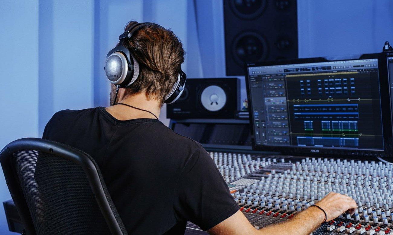 Wysokiej jakości słuchawki profesjonalne Beyerdynamic DT880 Pro 250Ohm