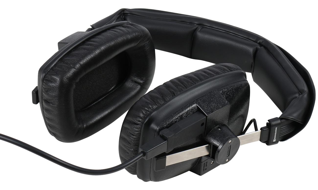 Wytrzymała konstrukcja słuchawek Beyerdynamic DT 100