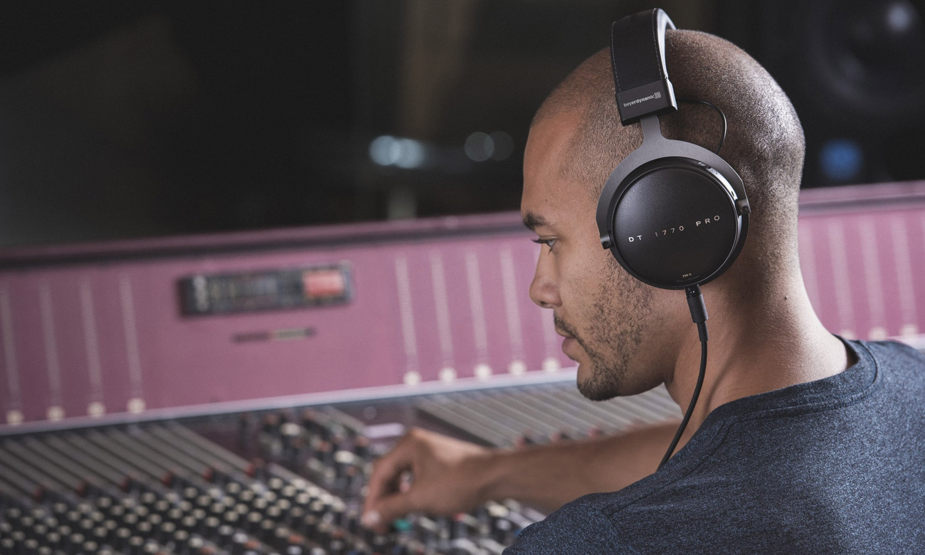 Konstrukcja profesjonalnych słuchawek Beyerdynamic DT 1770 Pro