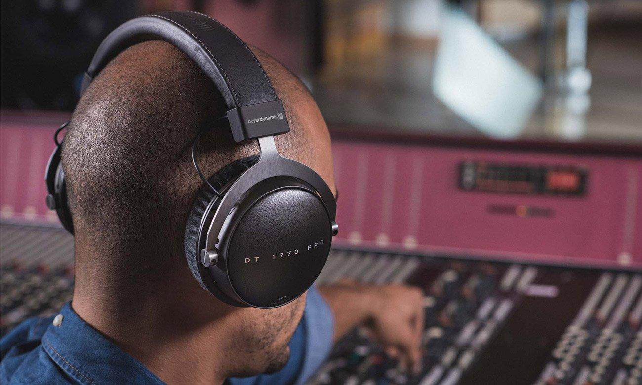 Wygodne słuchawki studyjne Beyerdynamic DT 1770 Pro