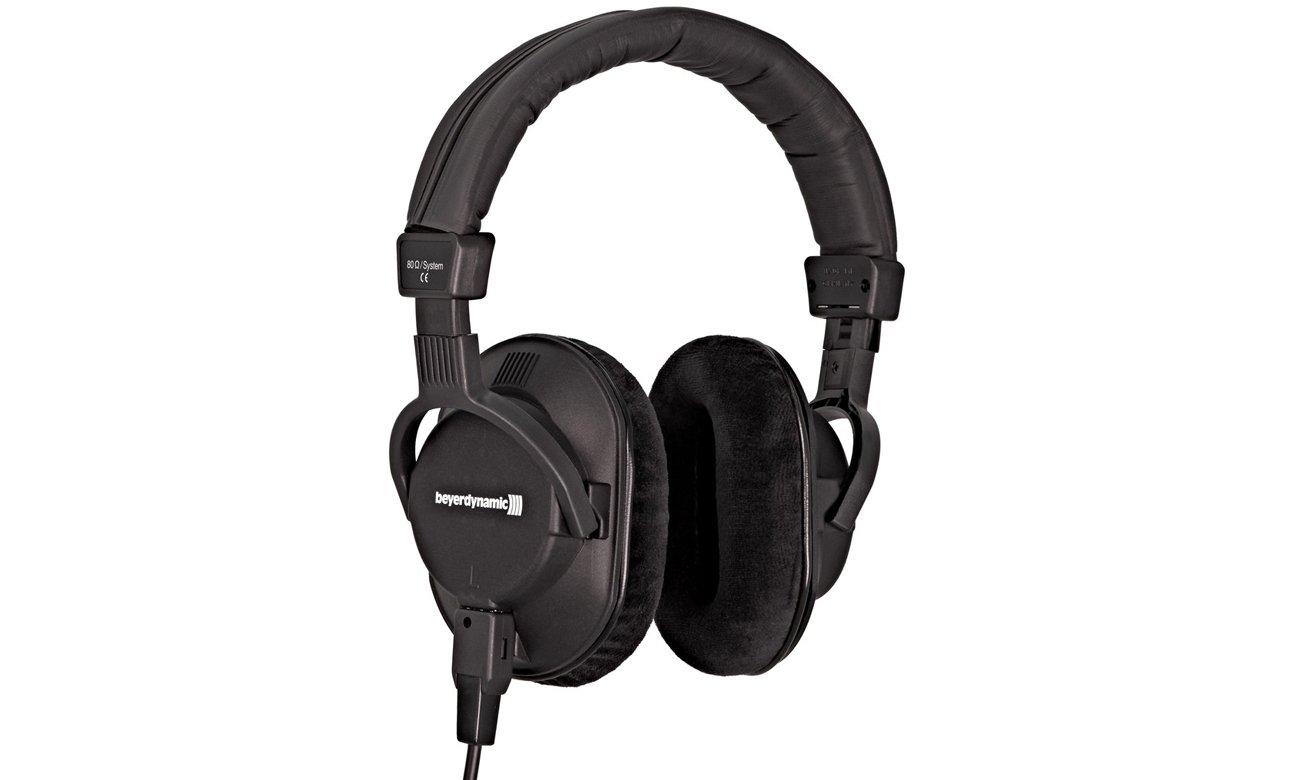 Profesjonalne słuchawki studyjne Beyerdynamic DT 250