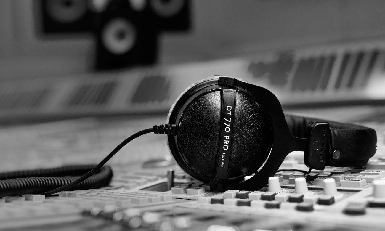 Słuchawki do studia nagraniowego Beyerdynamic DT770 Pro 250Ohm