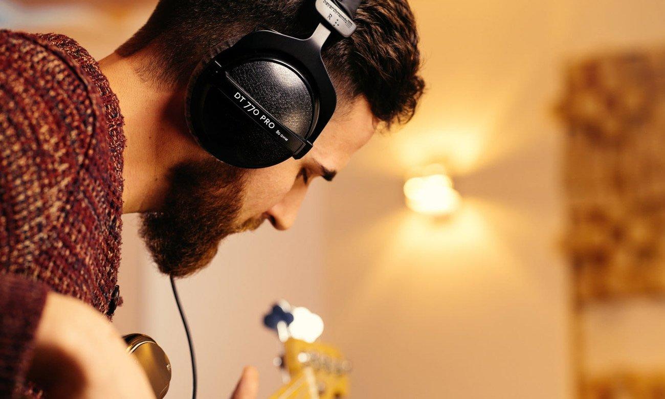 Budowa słuchawek Beyerdynamic DT770 Pro 32Ohm
