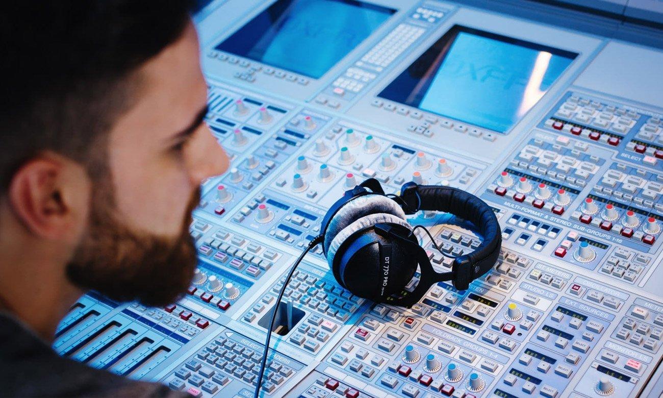 Słuchawki do studia nagraniowego Beyerdynamic DT770 Pro 80Ohm