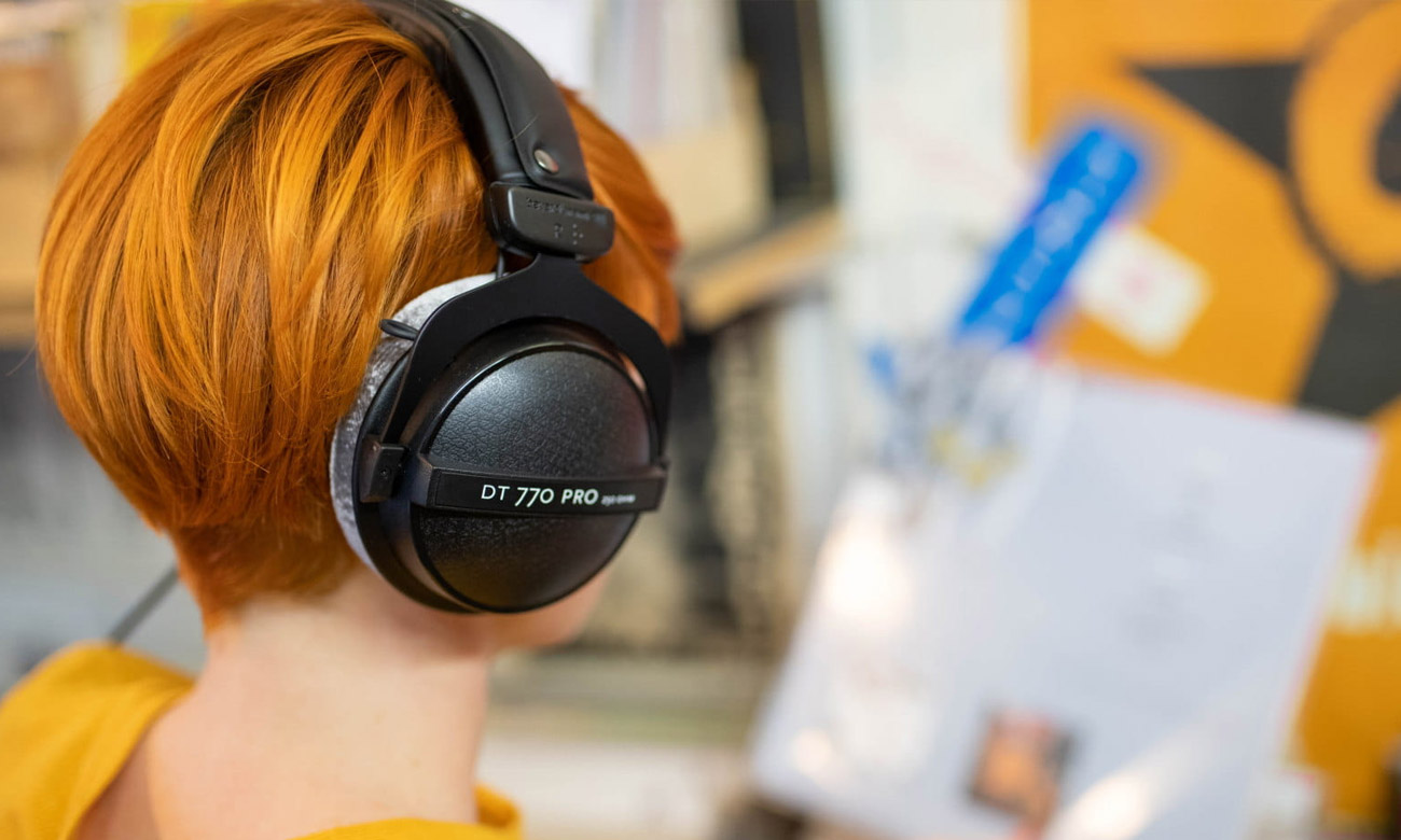 Profesonalne brzmienie słuchawek Beyerdynamic DT770 Pro 80Ohm