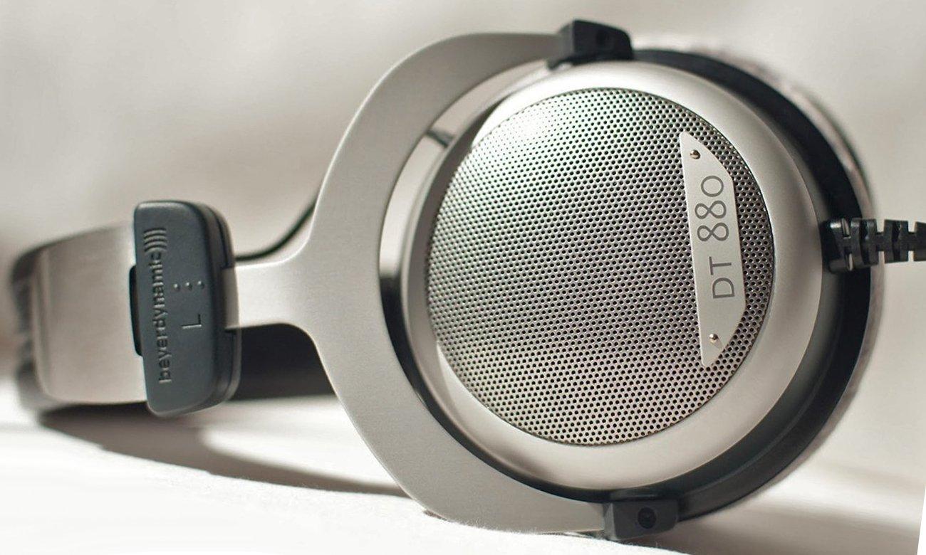 Wygodne słuchawki przewodowe Beyerdynamic DT 880 Edition