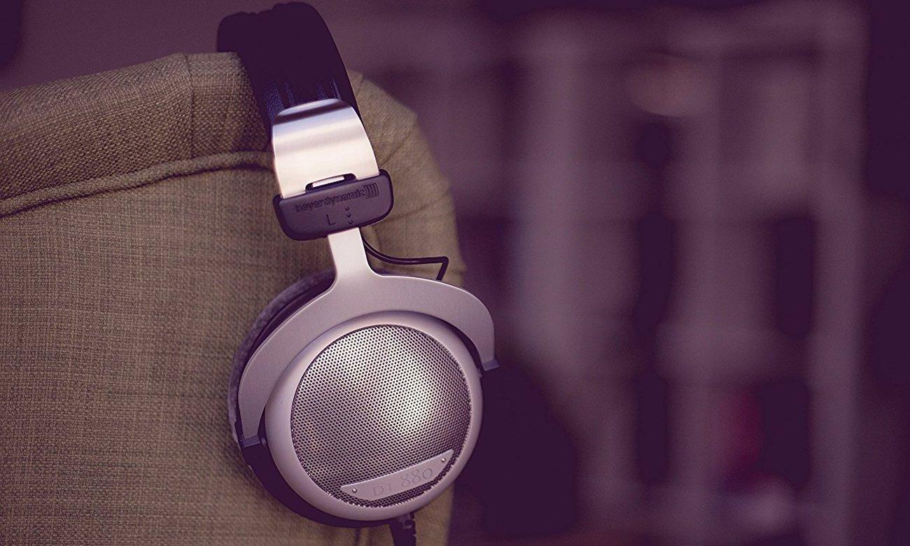 Wysokiej jakości nauszne słuchawki Beyerdynamic DT880