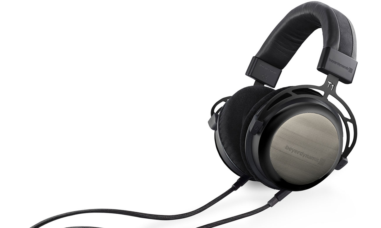 Brzmienie audiofilskich słuchawek Beyerdynamic T1 2gen. Black