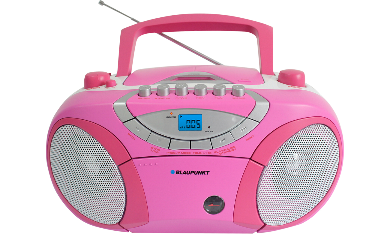 Radioodtwarzacz Blaupunkt Boombox BB15PK różowy