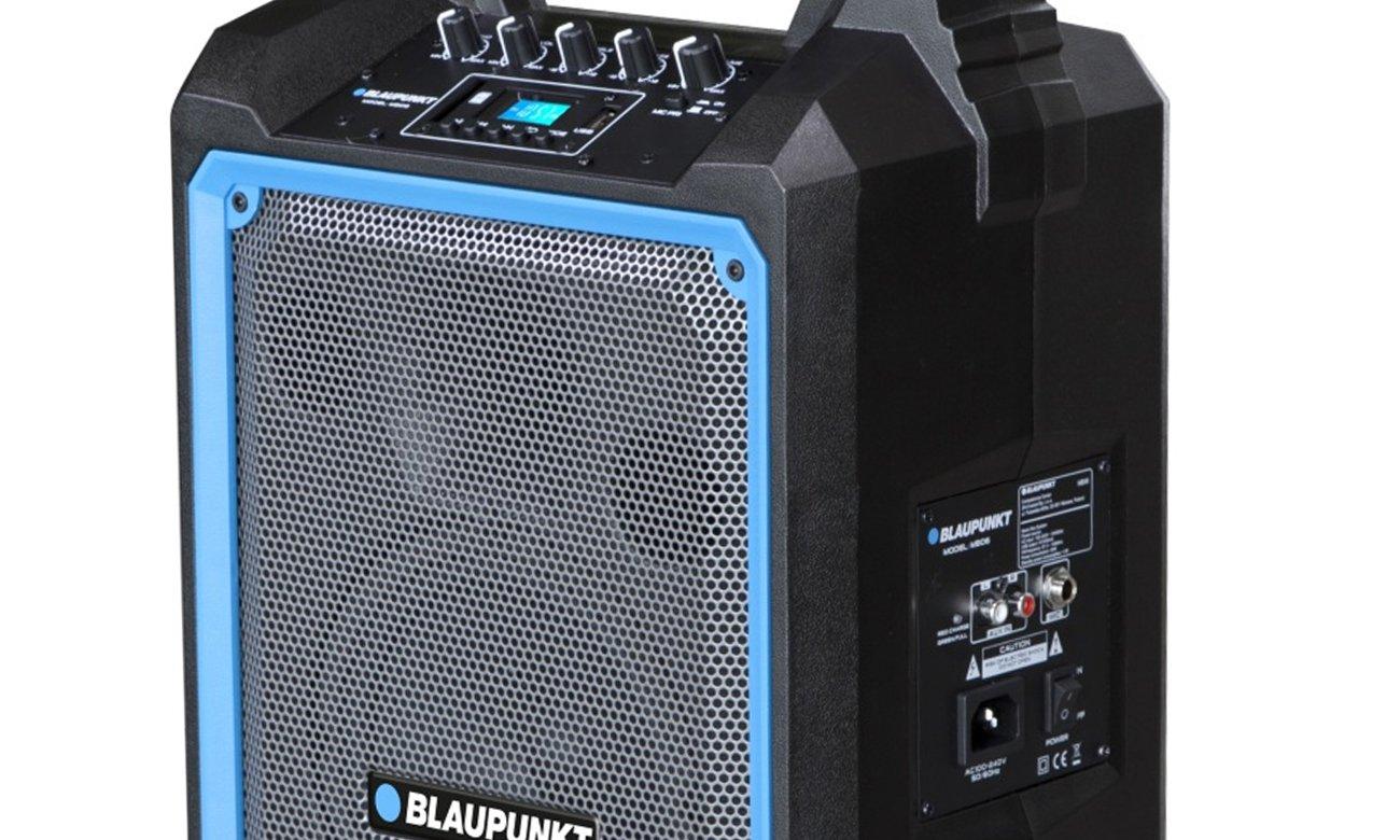 Blaupunkt MB06 z złączem AUX, USB oraz gniazdem kart SD