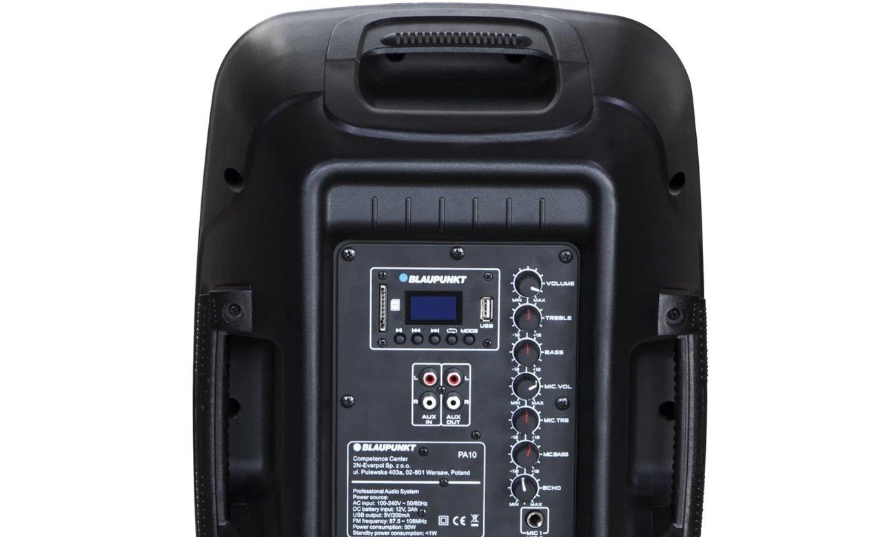 Przenośny sprzęt audio Blaupunkt PA10