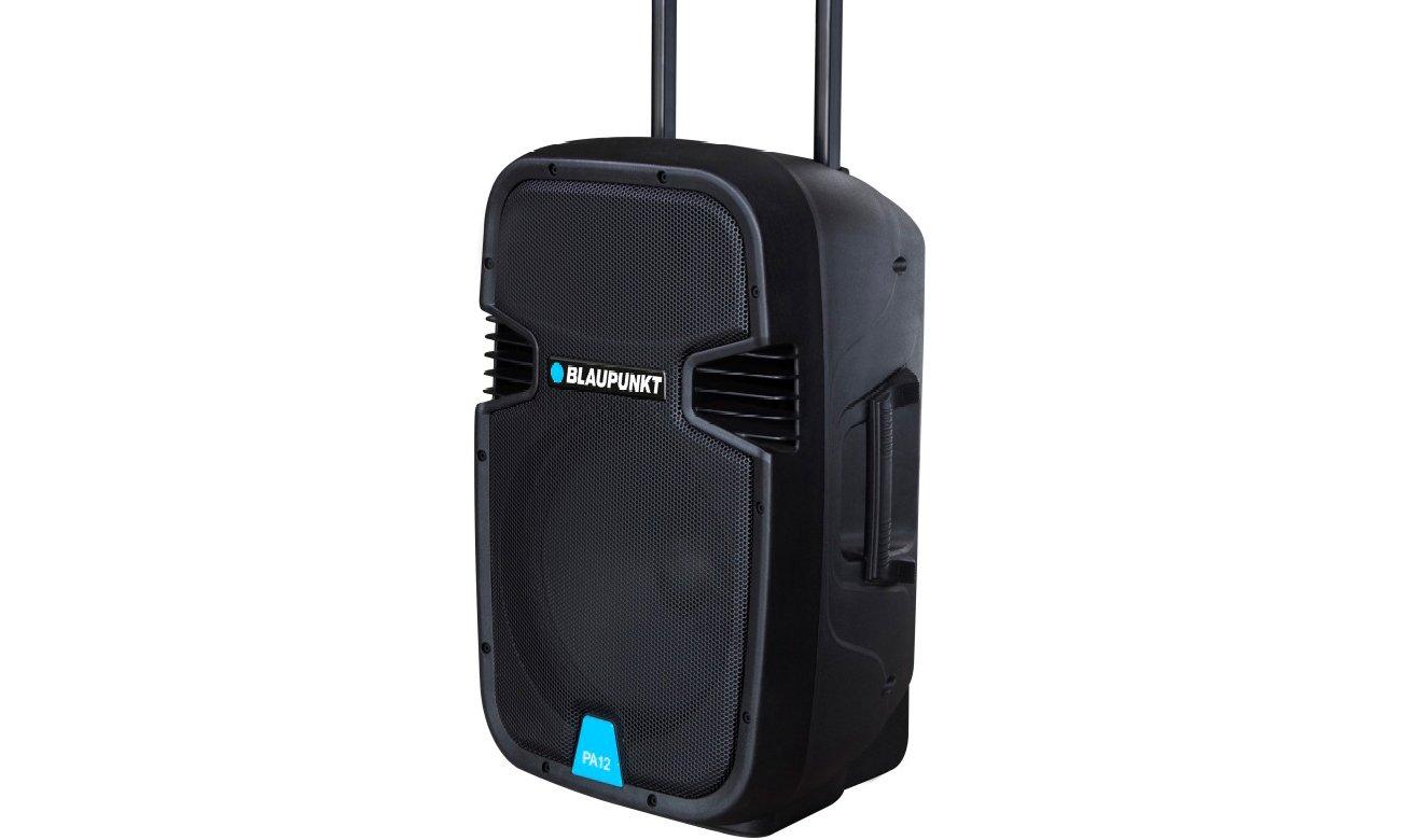 Blaupunkt PA12 z złączem AUX, USB oraz gniazdem kart SD