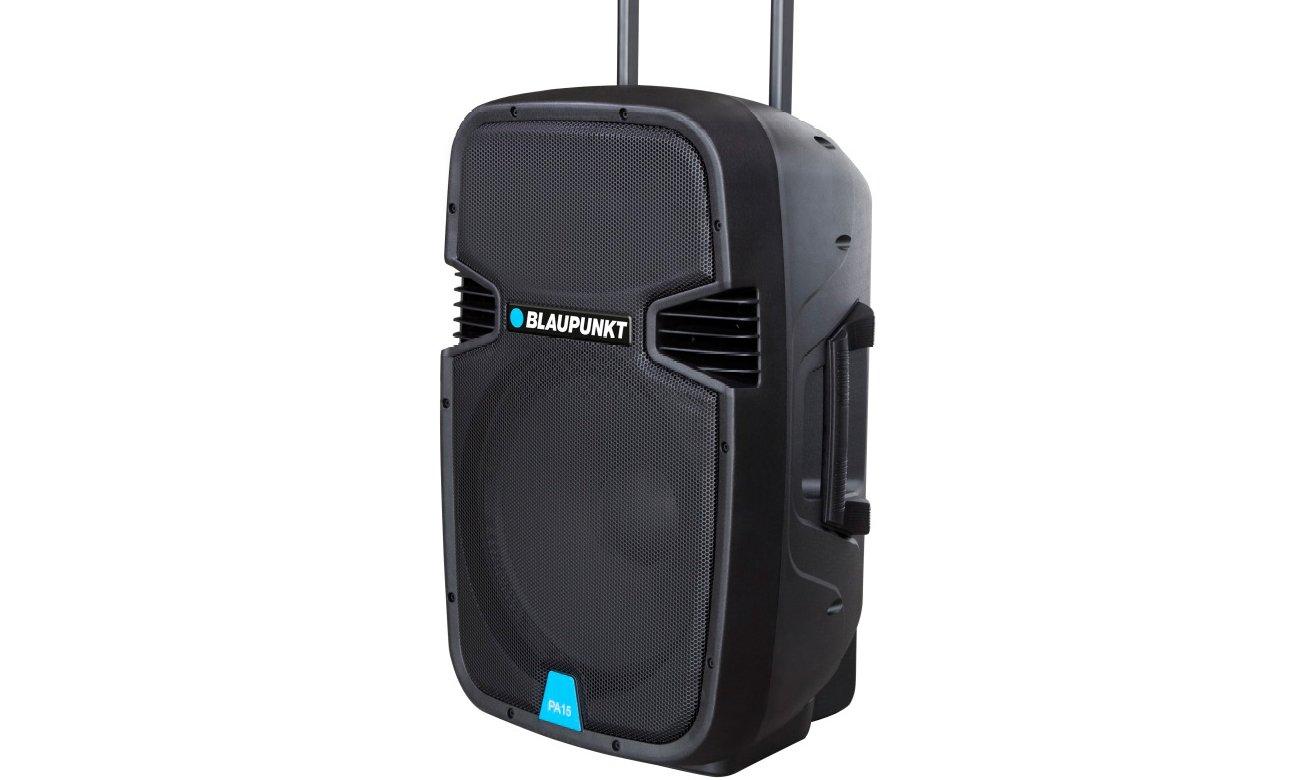 Blaupunkt PA15 z złączem AUX, USB oraz gniazdem kart SD